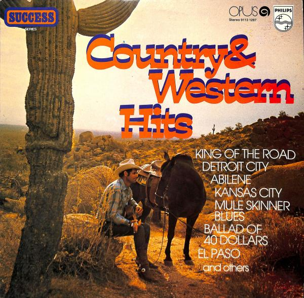 Country and western hits (LP)