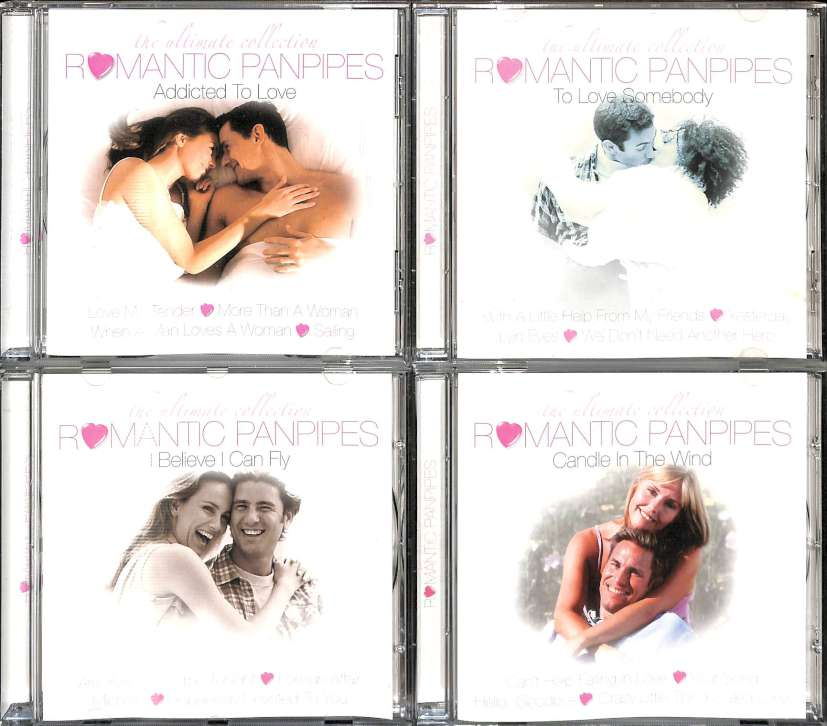 The ultimate collection romantic panpipes (7CD)