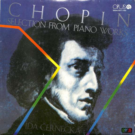 Chopin - Selection from piano works (LP)