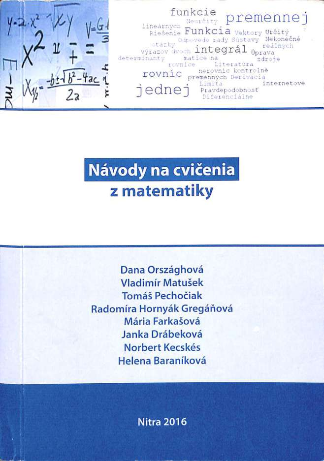1e6e1db76 Matematika - Antikvariát Piešťany - Knihaantik