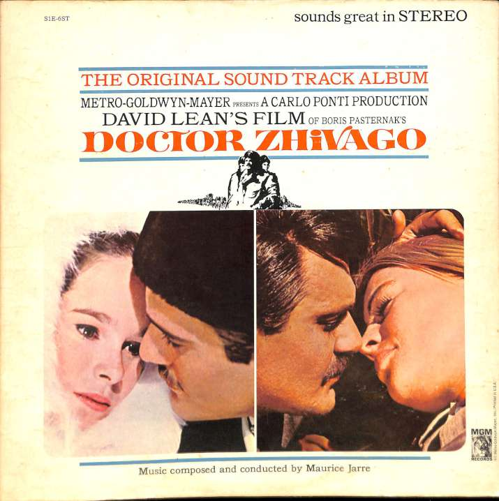 Maurice Jarre - Doctor Zhivago original soundtrack album (LP)