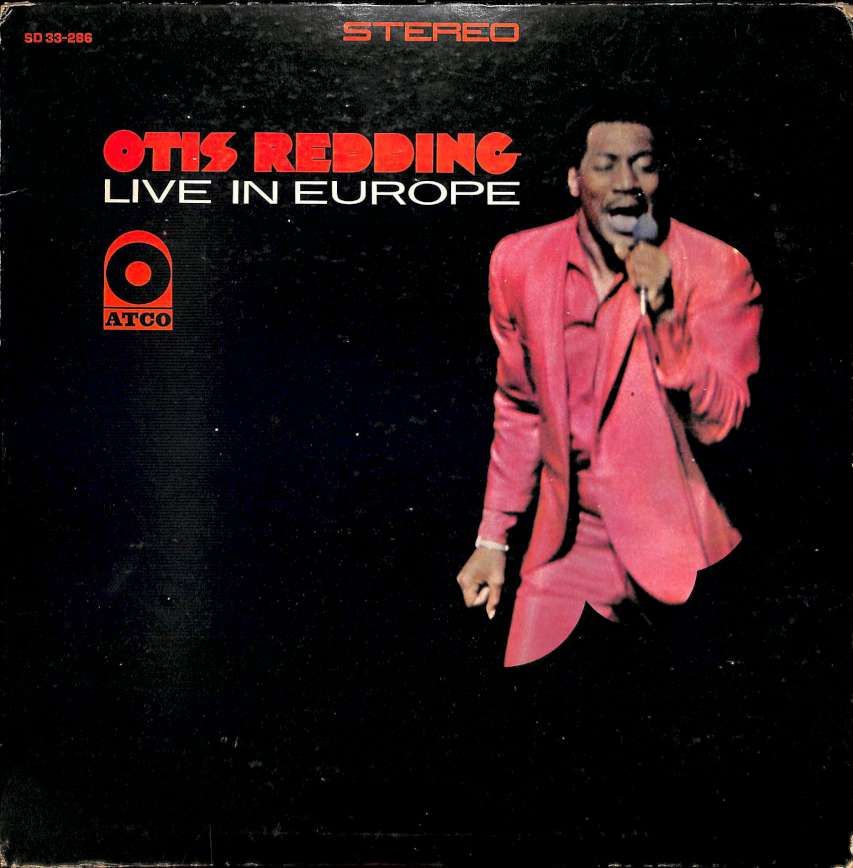 Otis Redding - Live in Europe (LP)