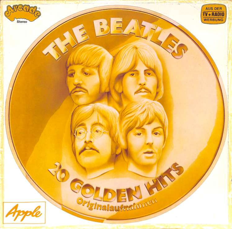 The Beatles - 20 Golden Hits (LP)