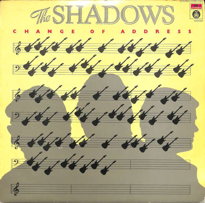 The Shadows - Change Of Address (LP)