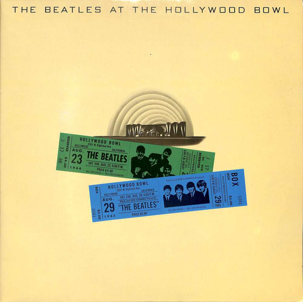 The Beatles at the Hollywood bowl (LP)
