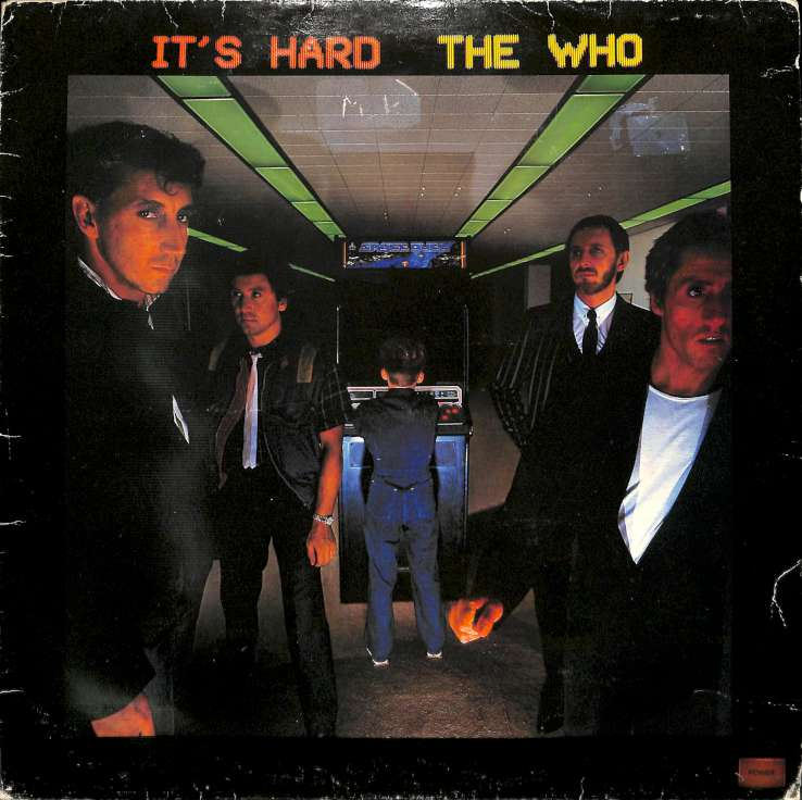 The Who - Its Hard (LP)